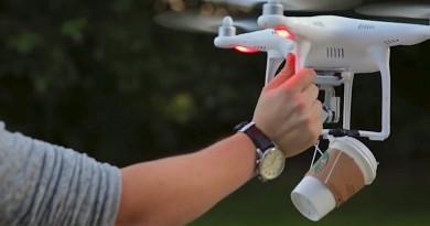 外賣自取 Starbucks 咖啡?用無人機不就可以了嗎!