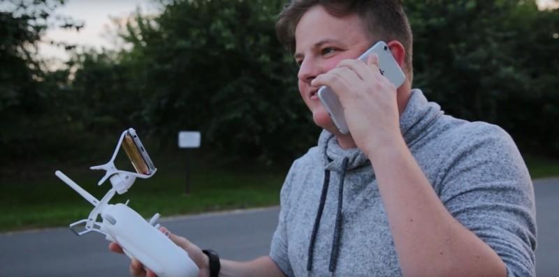 Auston Coon 打電話落單,預告會由無人機取走。