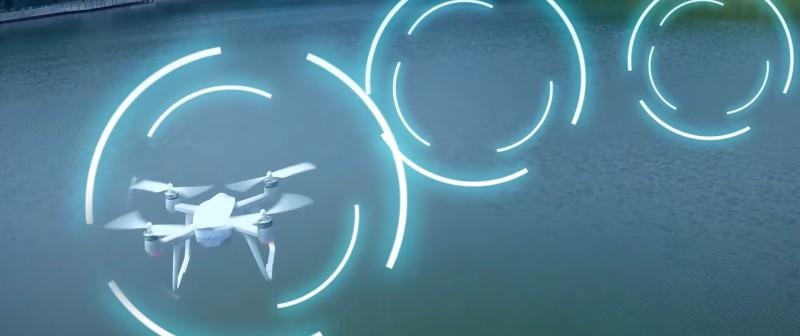 Walkera Aibao 穿越模式:玩家要穿越在實場景中架設的虛擬賽道