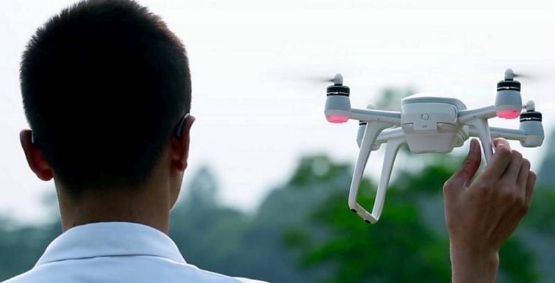 Walkera Aibao 無人機體積為 230 x 230 x 151 毫米,機身算是頗小巧。