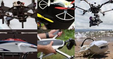 【一周熱話】5 台外形超炫的無人機 #2 讓你知道日本無人機是最貴的!