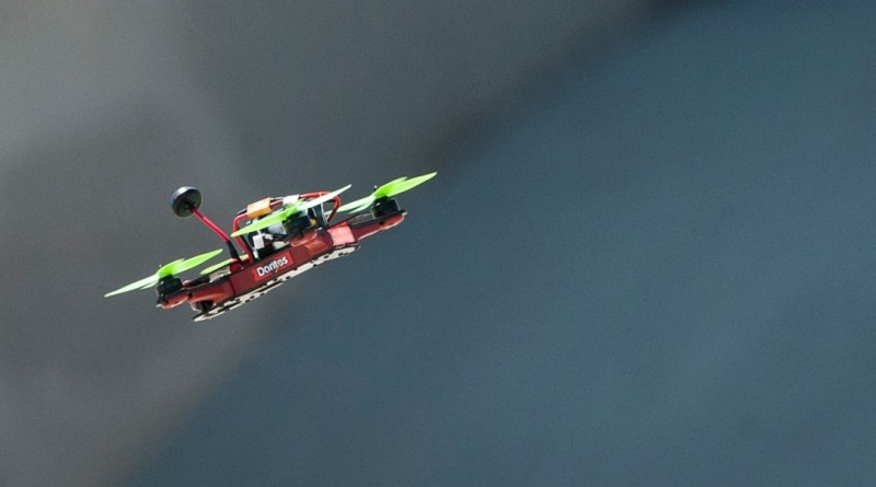 FPV 穿越機比賽登陸 Eurosport - DR1 drone racing
