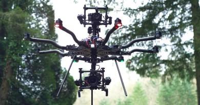 航拍相機上下開弓!Freefly ALTA 8 八軸無人機雙鏡頭空拍出擊
