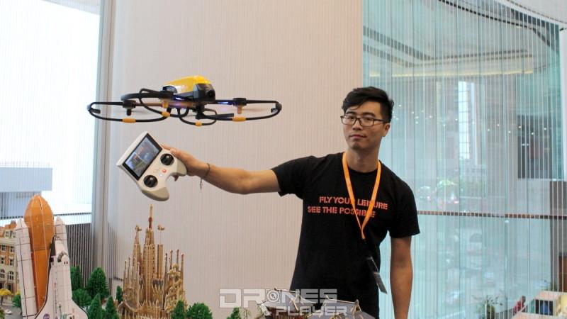香港秋電展 2016 - Elanview Cicada K 飛行示範