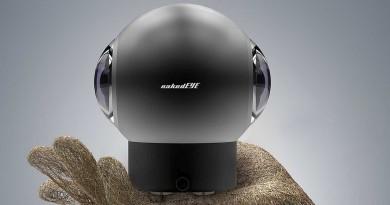 可拍RAW的運動相機!Indiecam nakedEYE 助你攝製VR電影