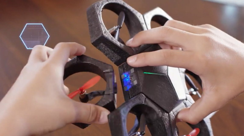 Makeblock Airblock磁石模組六神合體 海陸空三棲無人機