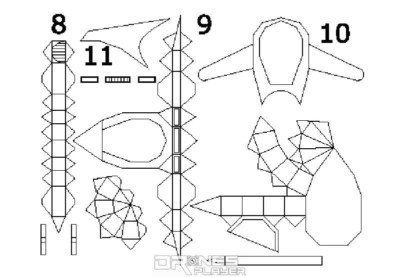 周先生分享了自行設計的指揮艇設計圖。