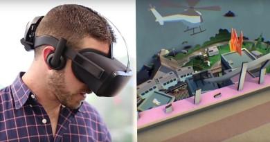 Oculus 無線版VR眼鏡初現!Santa Cruz 由內而外追蹤用戶肢體