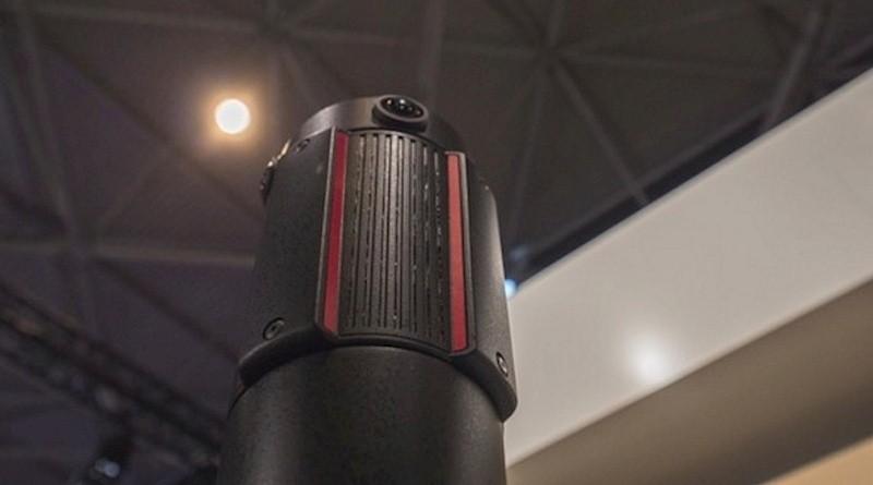 PHAROS project 機頂安裝 4 組鏡頭,做到實時拼接和直播。