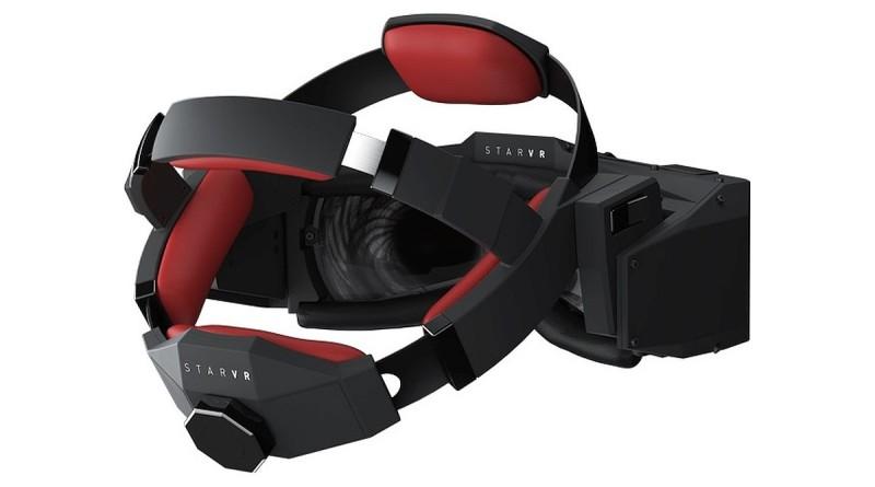 Starbreeze 早在 E3 2015 遊戲展上已展示了StarVR眼鏡的雛形。