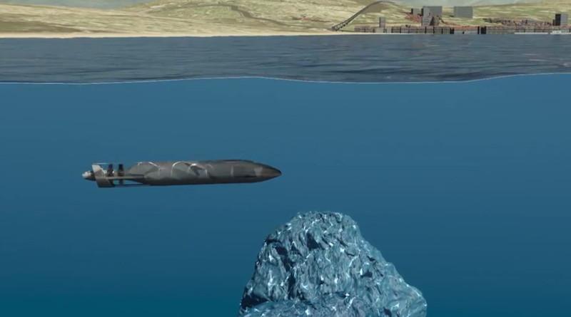 Thales AUSS intro video underwater