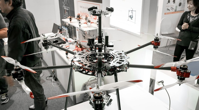 Varavon VR 無人機獨具萬向接頭三軸雲台