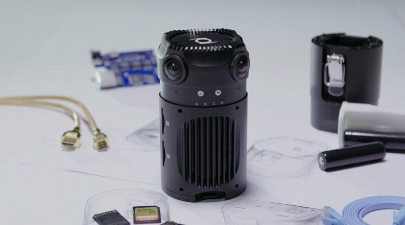 Z-Cam S1 四組魚眼鏡攝製 6K VR 全景影像