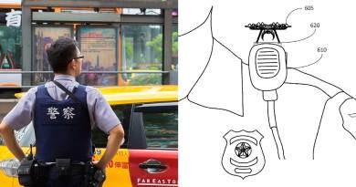亞馬遜研發警用聲控無人機,調查完畢降落在肩膊!
