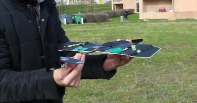固定翼無人機也能折疊!跟甲蟲和摺紙工藝取經便可成事