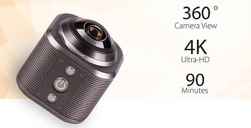Camorama 運動相機的外觀設計跟 Kodak PIXPRO SP360 4K 相似,機身上只設有一支魚眼鏡頭。