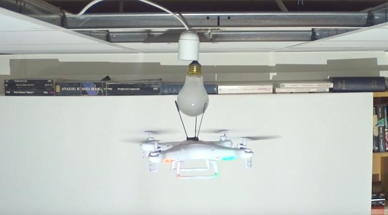 無人機 換燈泡