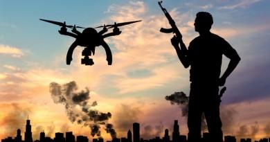 美軍用電磁槍 DroneDefender 對付 IS 無人機,首建奇功?