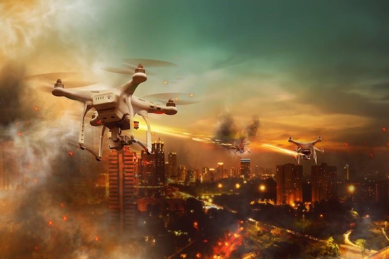 無人機 爆炸 戰場 伊斯蘭國 恐怖分子