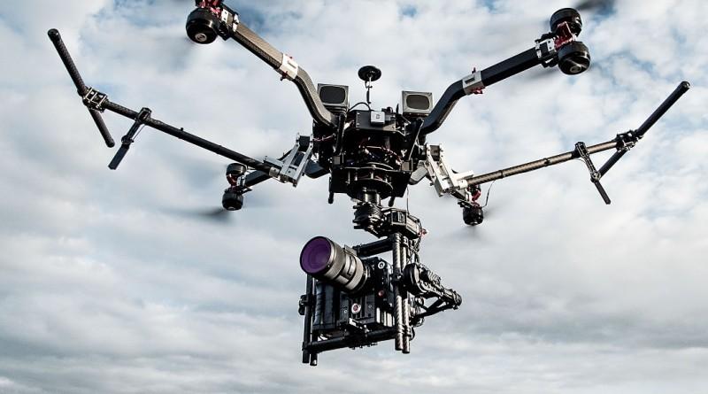 RED EPIC-W•WEAPON 8K 攝影機實現 8K 空拍時代