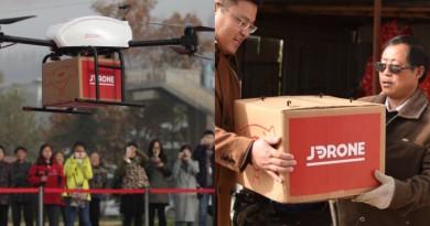 雙11網購日開鑼 京東無人機農村配送始動 載貨量達30公斤