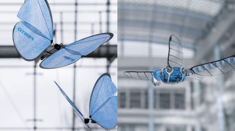 仿生 蜻蜓 蝴蝶 無人機