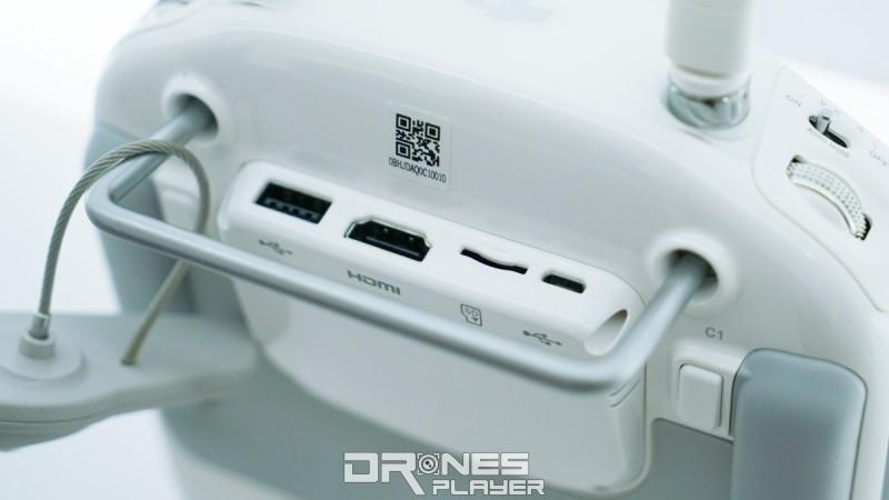 DIJ Phantom 4 Pro 遙控器接口