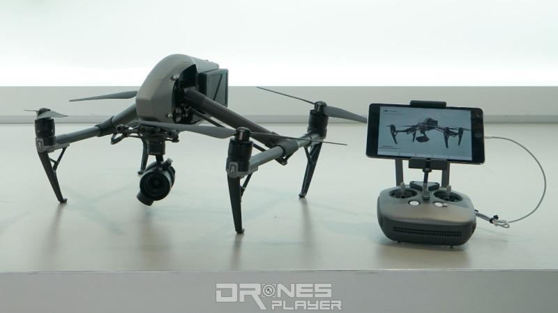 DJI Inspire 2 飛行器和遙控器