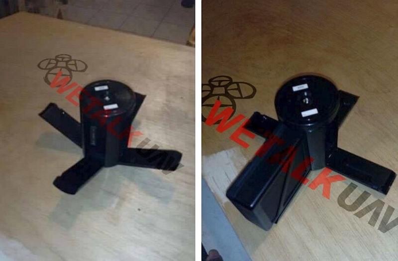 DJI Inspire 2 充電座採用圓柱形設計,可從機身拉下 4 支臂桿,替 4 枚電池進行同步充電。