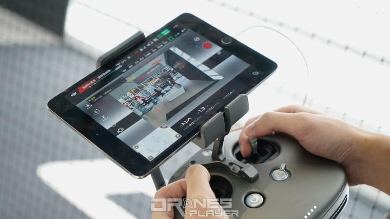 DJI Inspire 2 遙控器 - FPV 相機畫面