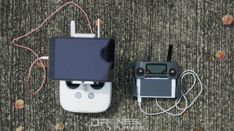 DJI Mavic Pro vs Phantom 4 - 遙控器大小