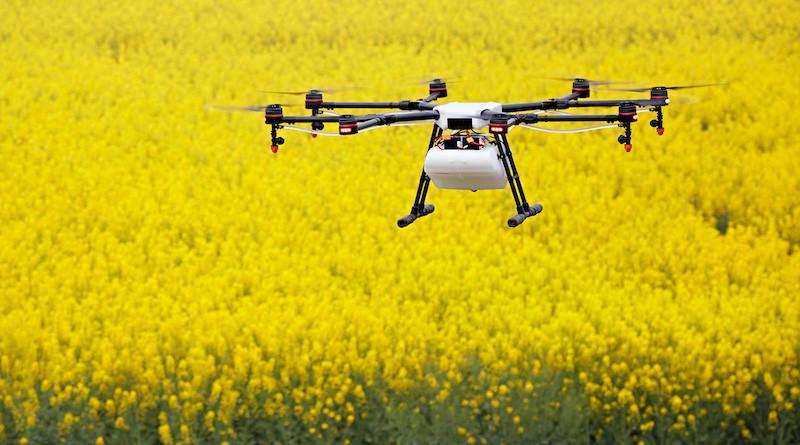 DJI 第一代農業植保機 MG-1 至今售出 2,500 台。