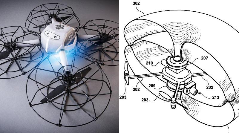 迪士尼無人機安全氣囊專利文件