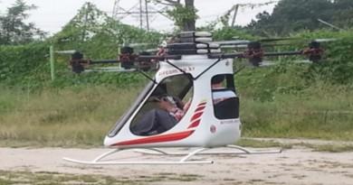 韓國首台載人飛行器試飛成功!6 軸 12 槳低空飛行•安全著陸