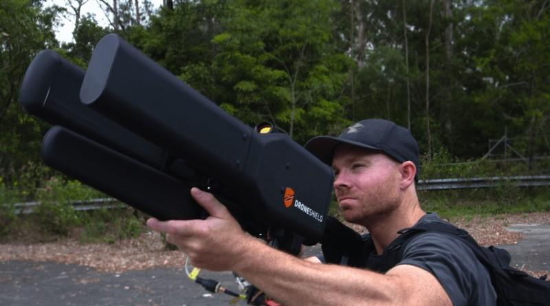 DroneShield 反無人機 電磁槍 DroneGun