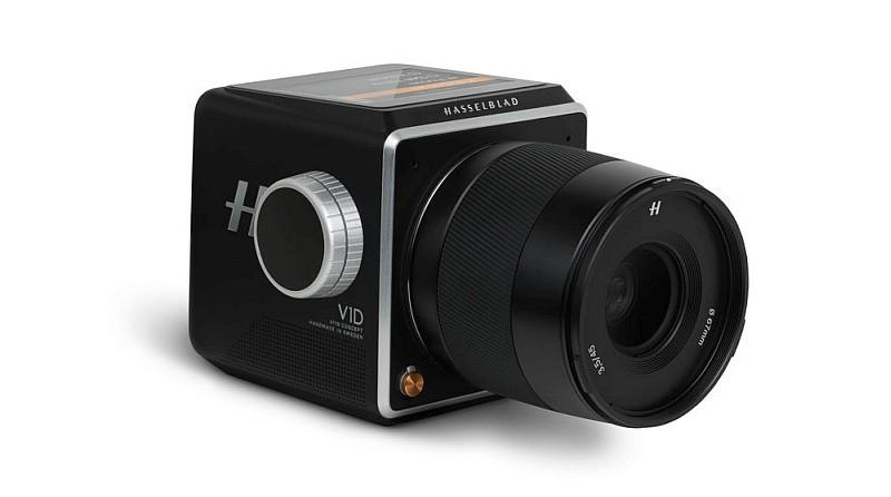 Hasselblad V1D 概念相機拆卸觀景器和手柄後的模樣。
