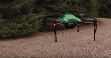 Sentera Omni 無人機具4K雙鏡頭•萬向接頭 上天下地盡攝無遺
