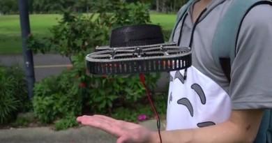 TONBO 無人機變身飛天風扇!尾隨用戶吹送陣陣涼風