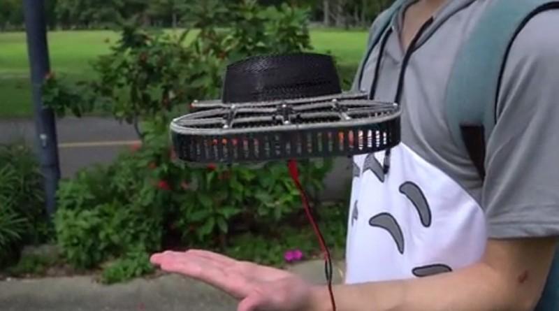 TONBO 無人機變身飛天風扇