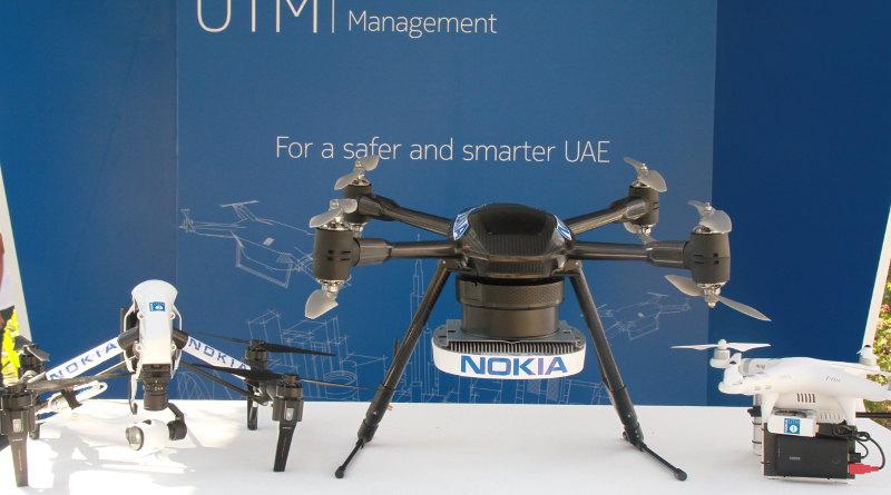 阿聯酋起用 Nokia 無人機交通管理系統