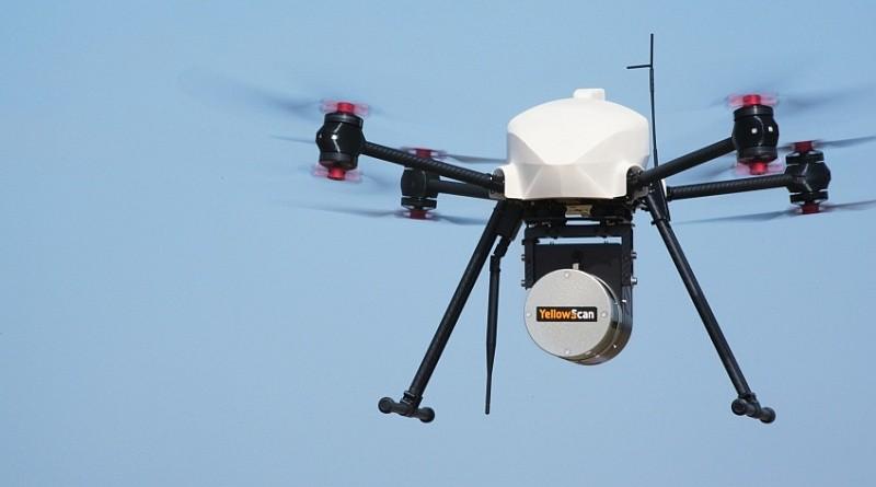 YellowScan 與 AltiGator 合作推出的光學雷達無人機,針對土木工程和採礦業的地形勘察需要設計而成,測量精度高達 5 厘米