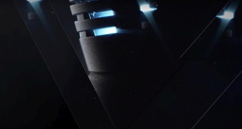 這張在片末出現的產品局部近照,有點像 Phantom 系列空拍機軸臂末端的發動機位置,難道這是屬於 DJI Phantom 4 Pro 的?