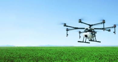 DJI 升級農業植保機 MG-1S 加強飛控•噴灑系統 實現精準噴灑