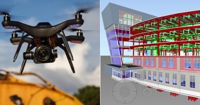3DR 轉型拚建築商機 空中數據平台統整 Solo 航拍資料與工程圖