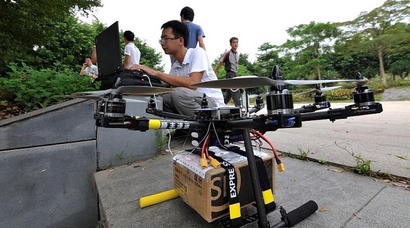 順豐曾研發能連續飛行 3 至 5 公里距離、負載 5 公斤貨件的送貨無人機。