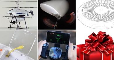 【一周熱話】5 台久違的新奇設計無人機 #2 單翼飛行器竟是市售產品!