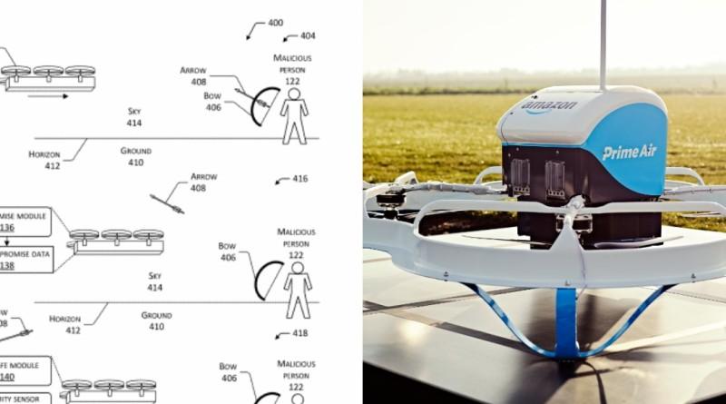 亞馬遜 無人機 送貨 專利 保護