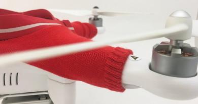 氣溫驟降,是時候穿上毛衣,也請別忘了為 DJI Phantom 添衣?!