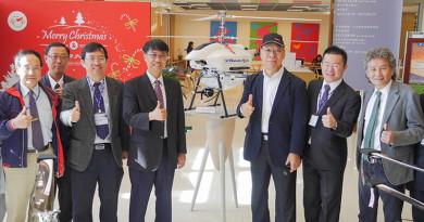 雷虎•逢甲大學產學技轉 共推同軸雙旋電動工農無人機