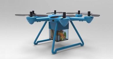 看烹飪節目即訂食材!Foxtrot 無人機半小時宅配到府